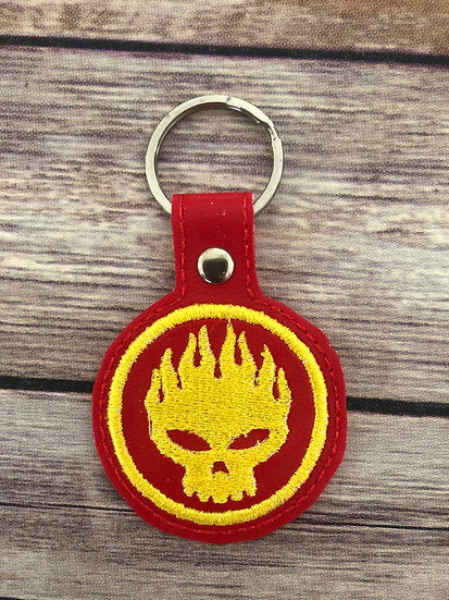 Offspring Embroidered Key Chain