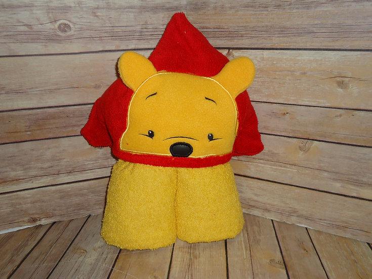 Silly Ole Bear 3D Hooded Towel