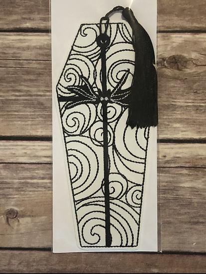 Jack's Coffin Vinyl Bookmark - Ready to Ship