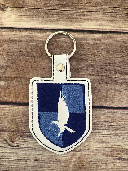 Spell Academy Raven House Embroidered Key Chain