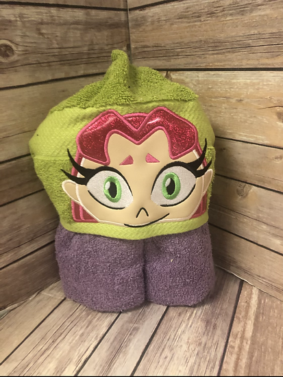 Starfire Child Size Hooded Towel - Ready to Ship