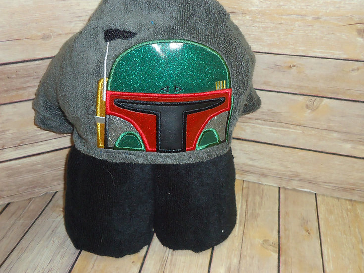 Star Wars Boba Fett Hooded Towel