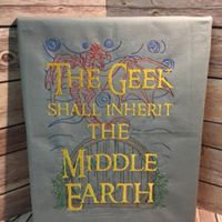 Geek Shall Inherit Middle Earth Art - Made To Order