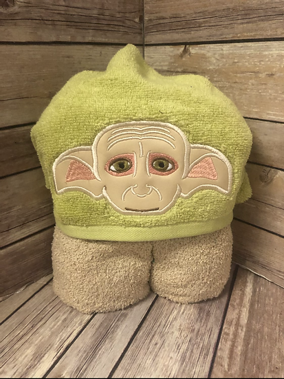 House Elf Child Size Hooded Towel - Ready to Ship