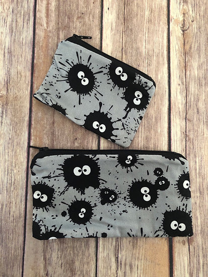 Soot Sprites Zipper Pouch - Ready to Ship