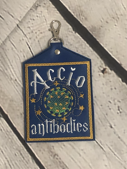Summon Antibodies Vaccine Card Holder - Ready to Ship