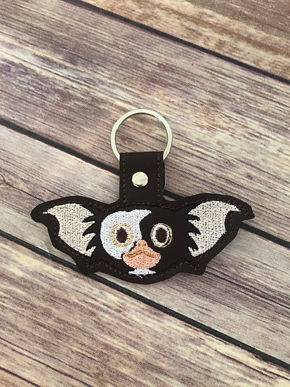 Gizmo Embroidered Key Chain