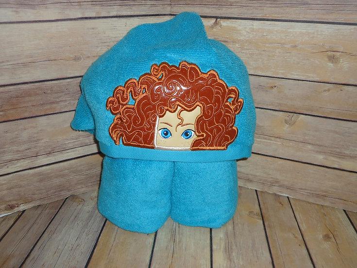 Merida Inspired Hooded Towel
