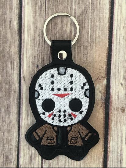 Jason Chibi Embroidered Key Chain