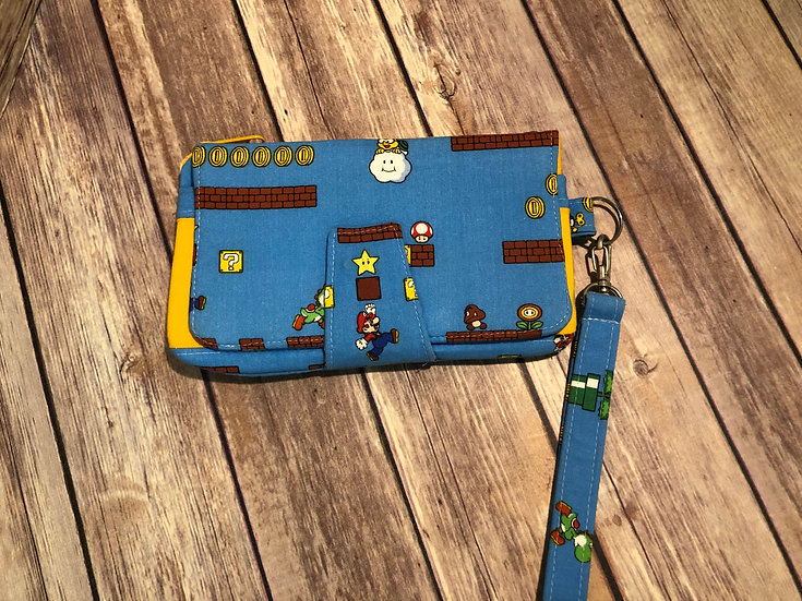 Mario Brothers Pearl Wallet Clutch