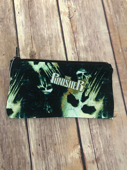 The Punisher Zipper Pouch - Ready to Ship