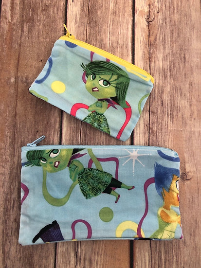 Inside Out Emotions Zipper Pouch - Ready to Ship