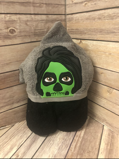 Ghoul Child Size Hooded Towel - Ready to Ship