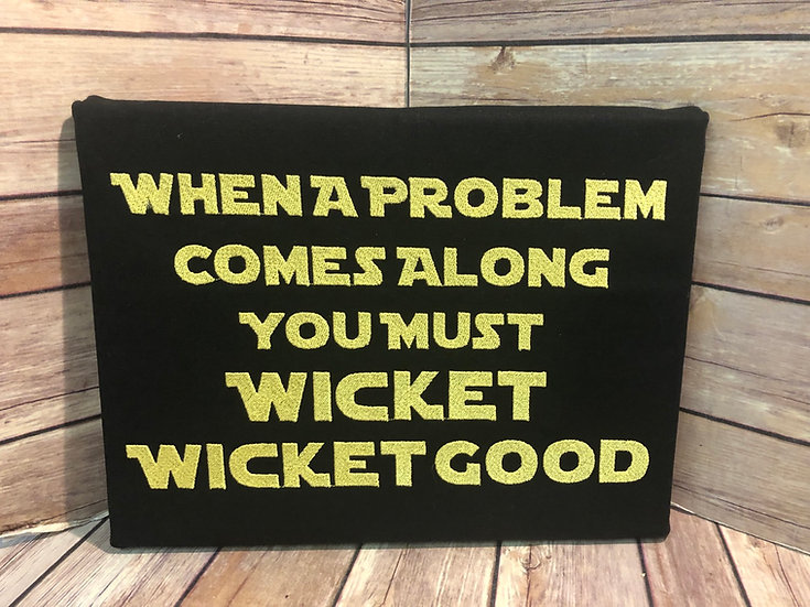Wicket, Wicket Good Star Wars inspired Wall Art - Ready to Ship