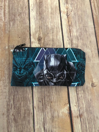 Black Panther Zipper Pouch - Ready to Ship