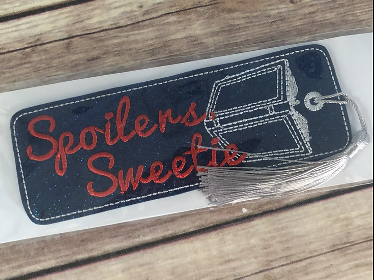 Spoliers Sweetie Bookmark - Ready to Ship
