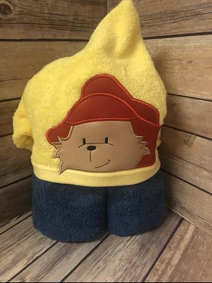 Paddington Child Size Hooded Towel - Ready to Ship