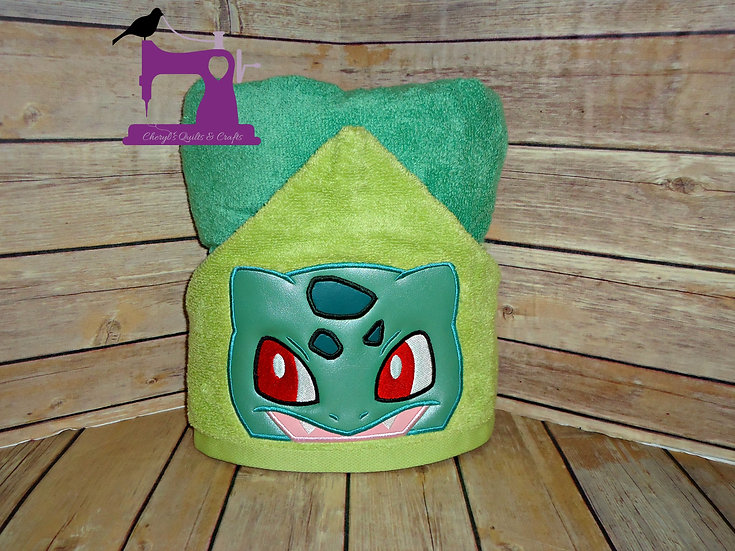 Pokemon Bulbasaur Hooded Towel