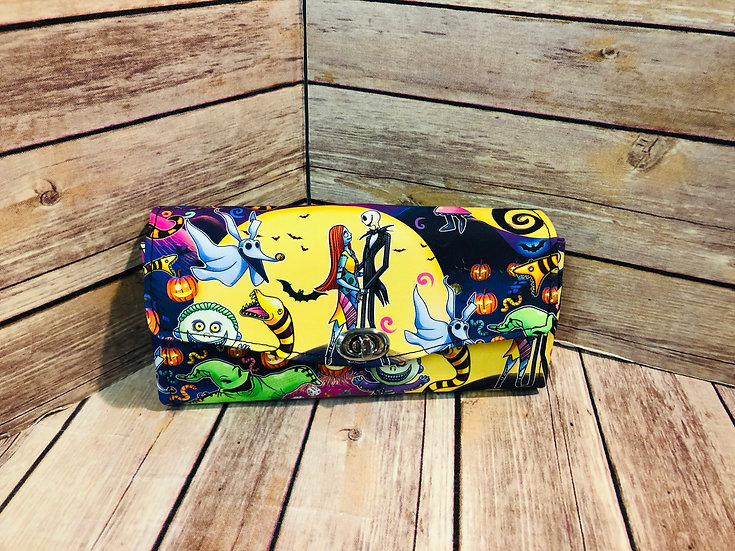 Nightmare Before Christmas themed Necessary Clutch Wallet-Made to Order