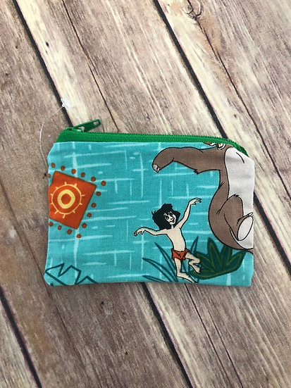 Jungle Book Pouch - Ready to Ship