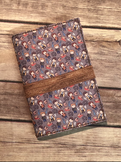 Supernatural Characters Notebook Keeper - Ready to Ship