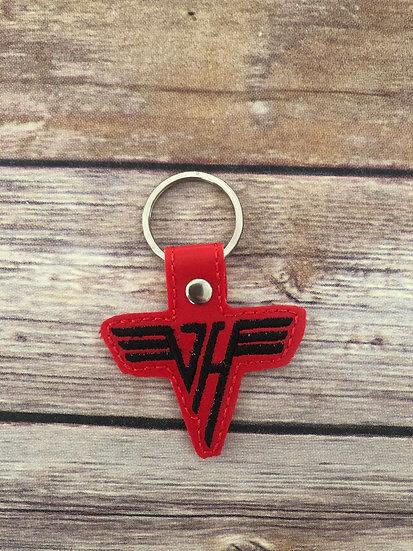 Van Halen Embroidered Key Chain