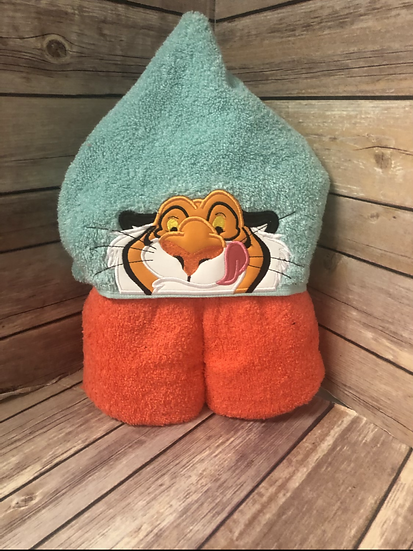Rajah Child Size Hooded Towel - Ready to Ship