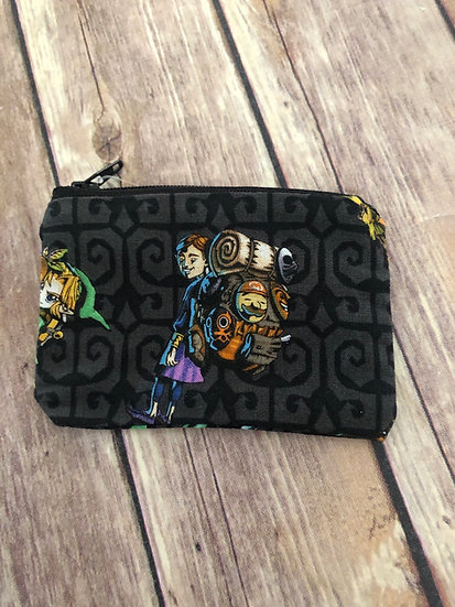 Legend of Zelda Zipper Pouch - Ready to Ship