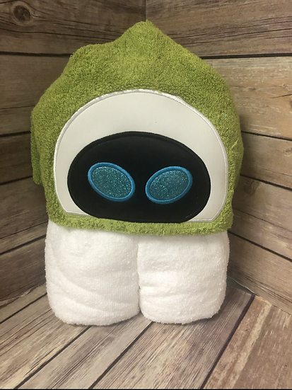 Eve Child Size Hooded Towel - Ready to Ship