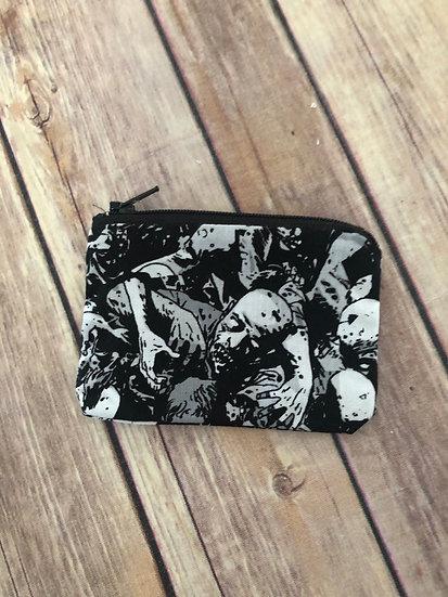 Walking Dead Zombies Zipper Pouch - Ready to Ship