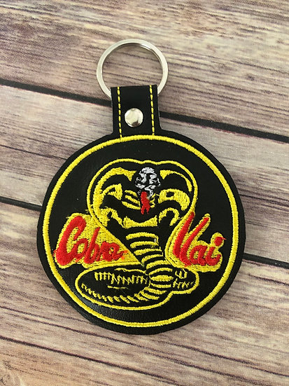 Cobra Kai Embroidered Key Chain