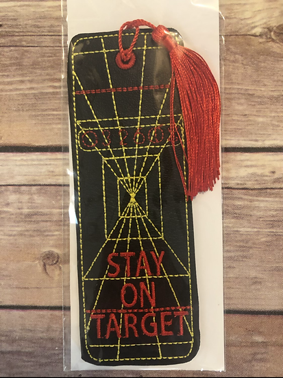 Stay on Target Bookmark - Ready to Ship