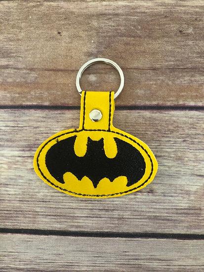 Batman Embroidered Key Chain