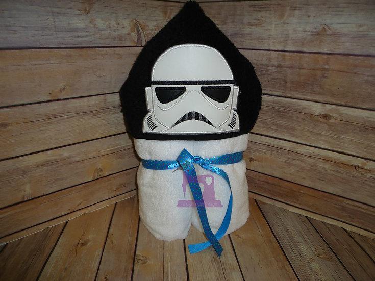Star Wars Storm Trooper Hooded Towel
