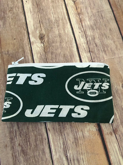 Jets Zipper Pouch - Ready to Ship