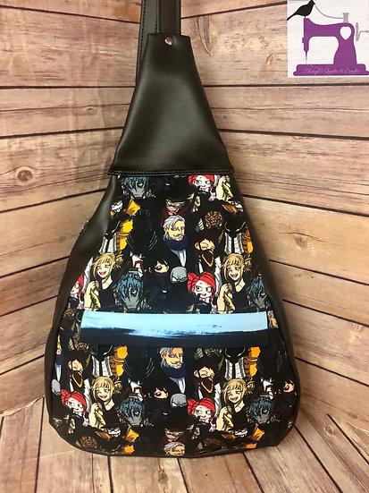 Super School Villians themed Dragon Sling Bag - Ready to Ship