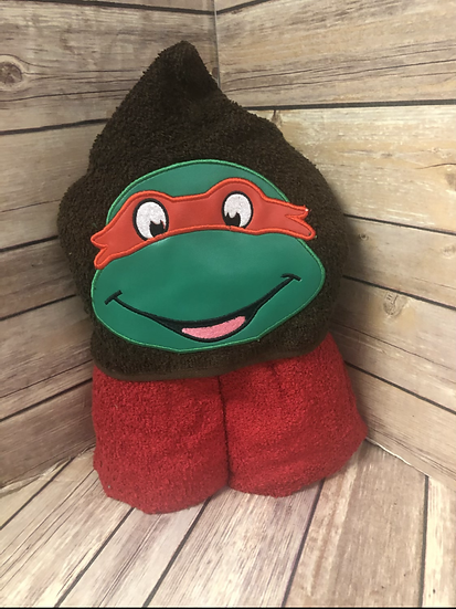 Raphael Child Size Hooded Towel - Ready to Ship