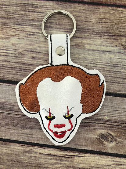 """New"" Pennywise Embroidered Key Chain"