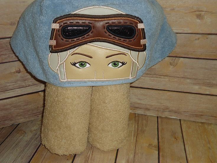 Galaxy Heroine Hooded Towel