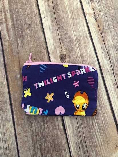 My Little Pony Zipper Pouch - Ready to Ship