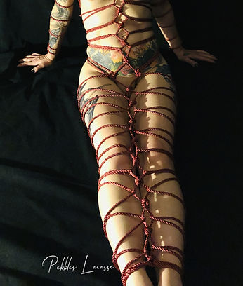 Lisa signature red rope.JPG