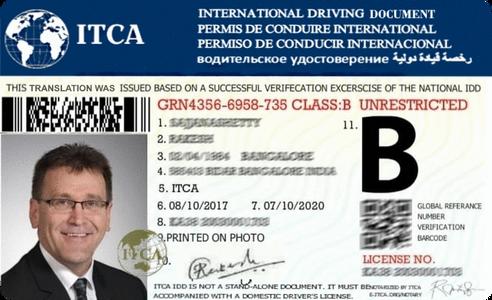 australian drivers licence in usa