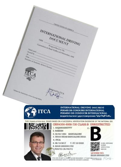 india international driving license validity