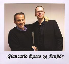 Arnþór og Giancarlo Russo