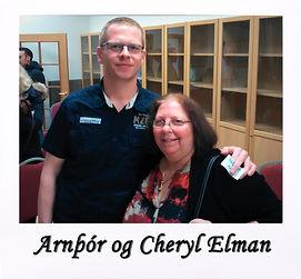 Arnþór og Cheryl Elman