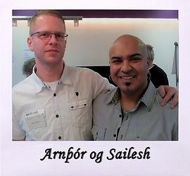 Arnþór og Sailesh