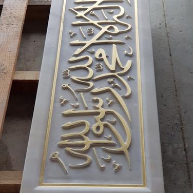 mermer yazı mezar