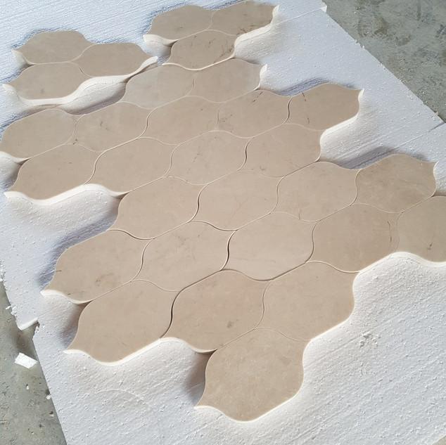 waterjet marble tile