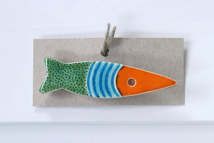 brooch - fish