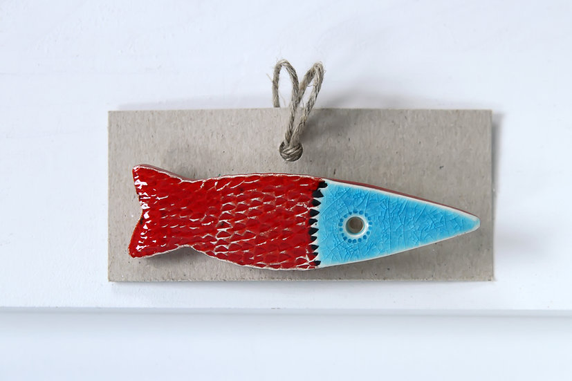brooch - fish